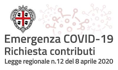 COVID 19 - Richiesta contributo Regione Sardegna