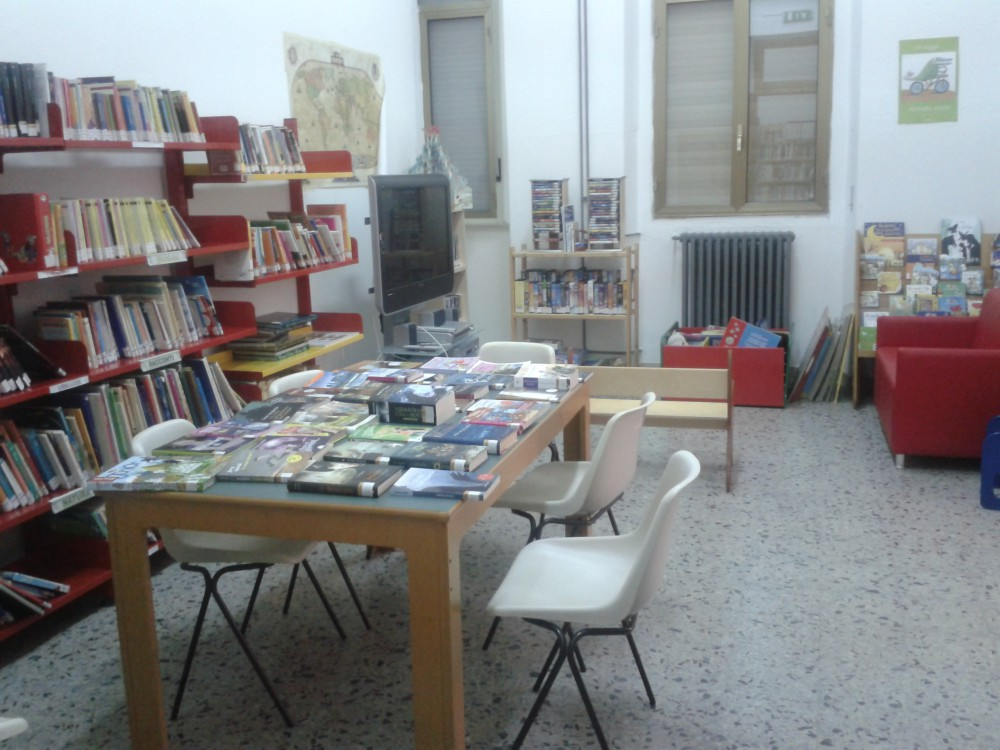 Immagini sala ragazzi della biblioteca